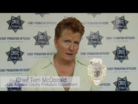 Chief Terri McDonald Discuss Importance of Juvenile Justice Realignment