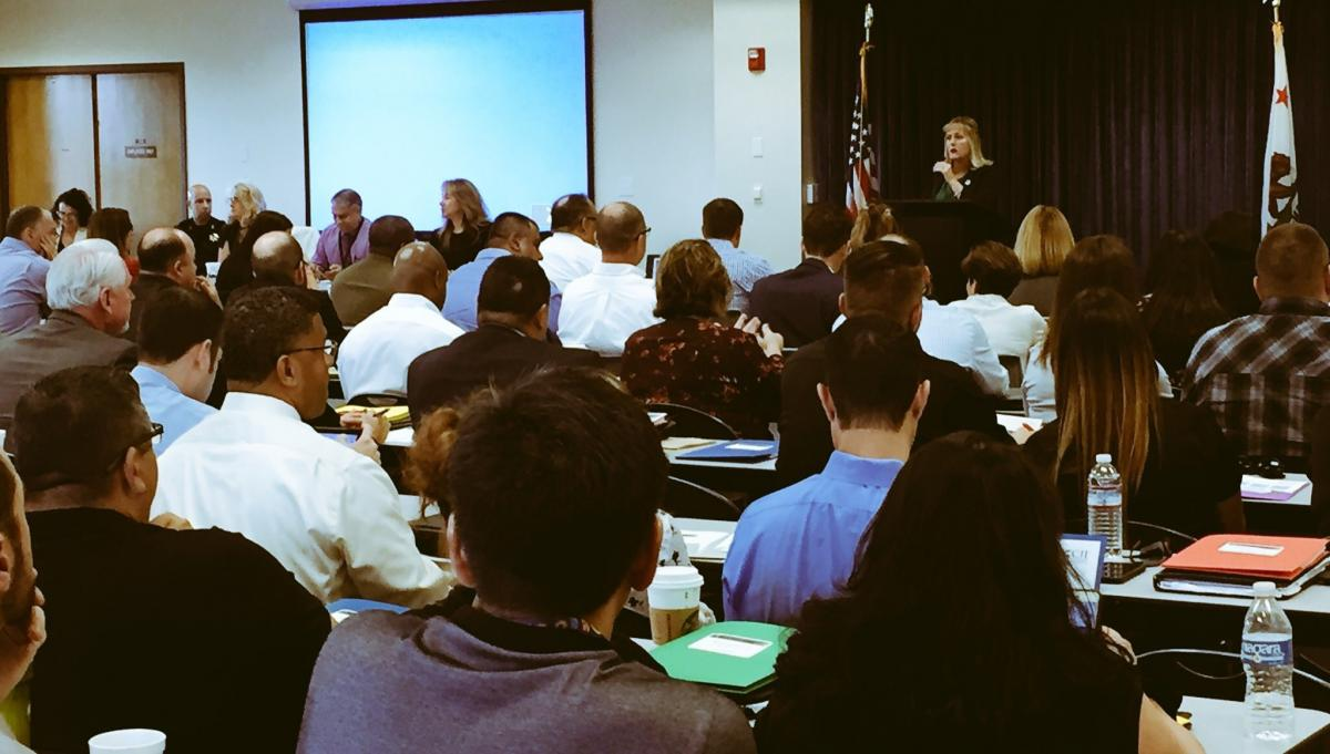 31 Counties Attend Pretrial Training in San Joaquin