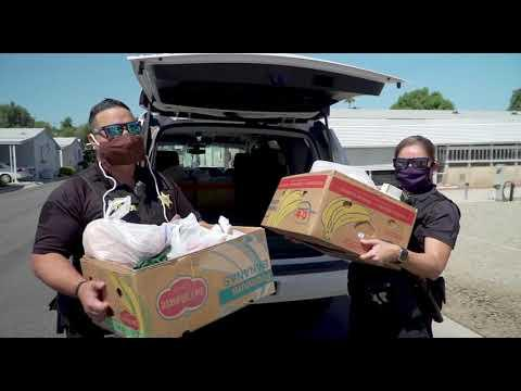 Probation Officers in Riverside Deliver Essential Items to Clients in Need