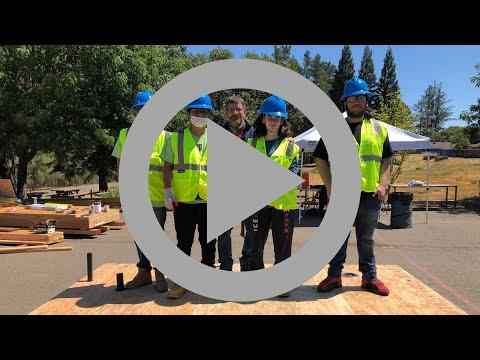 ICYMI: Sonoma County youth build modular showers and bathrooms for the homeless