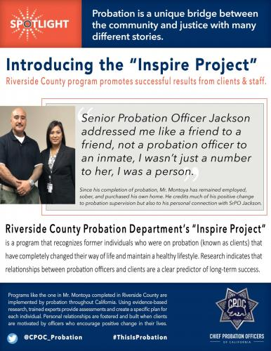 Success Stories - Chief Probation Officers of California